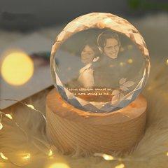 相片制作照片3D水晶摆件结婚礼物