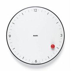 创意极简北欧风红点挂钟