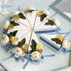 创意三角蛋糕喜糖盒