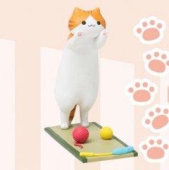 小猫咪后院可爱造型智能手机支架