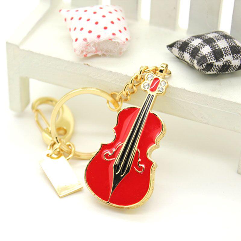 创意小提琴U盘8g 2