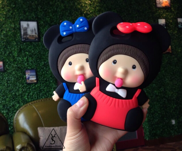 蒙奇奇米奇ip6s创意手机壳女生礼物5