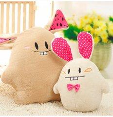 爱情公寓4龅牙兔创意抱枕公仔