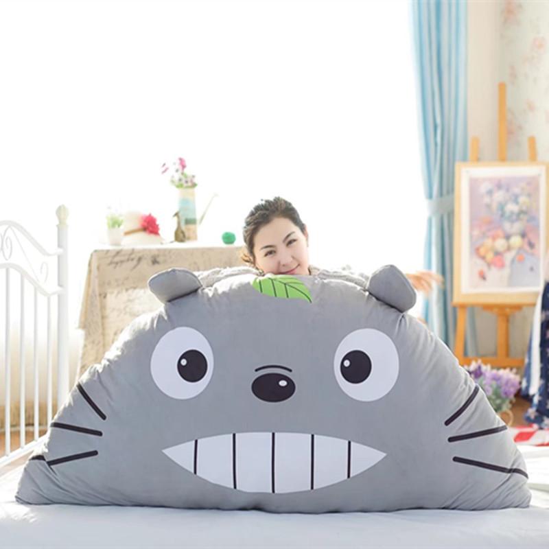 可爱动物床头大靠垫创意七夕礼物