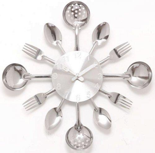爱情公寓同款刀叉挂钟