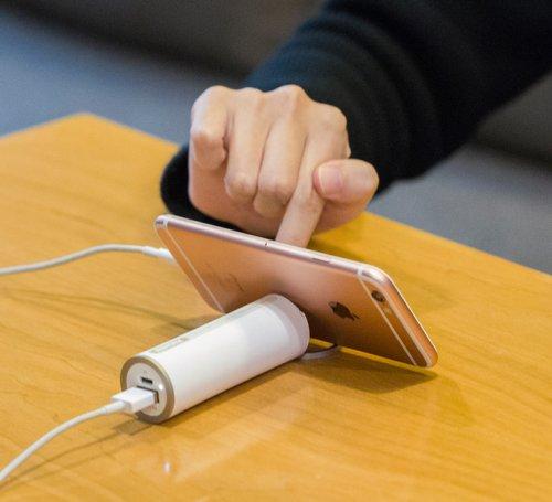 指环手机支架5000毫安充电宝