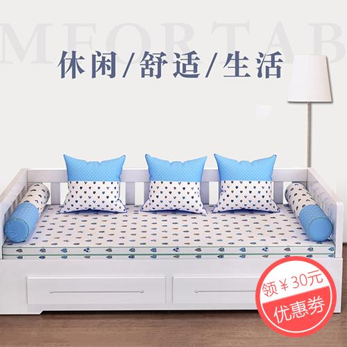 可折叠沙发床1.5实木客厅