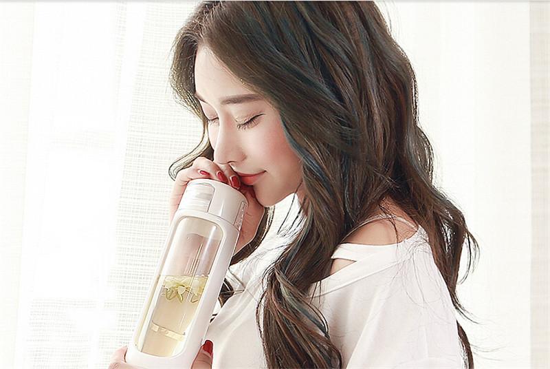 富光新品玻璃瓶耐热玻璃水杯2