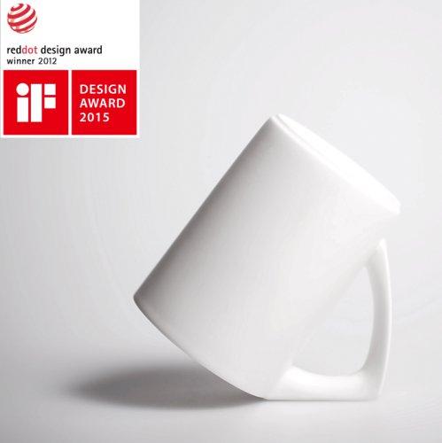 『 红点设计奖』倾斜创意杯子倒立马克杯母亲节
