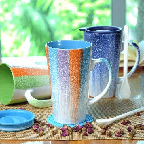 情侣创意陶瓷马克杯牛奶茶水杯