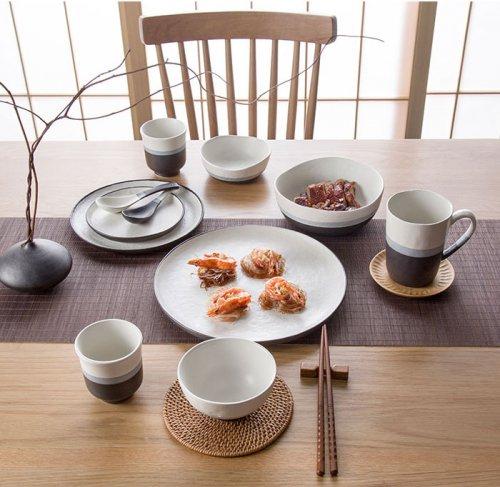 创意磨砂家用异形陶瓷餐具套装结婚礼物