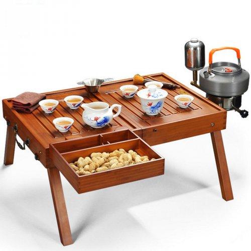 旅行便携式户外可折叠桌子泡茶台