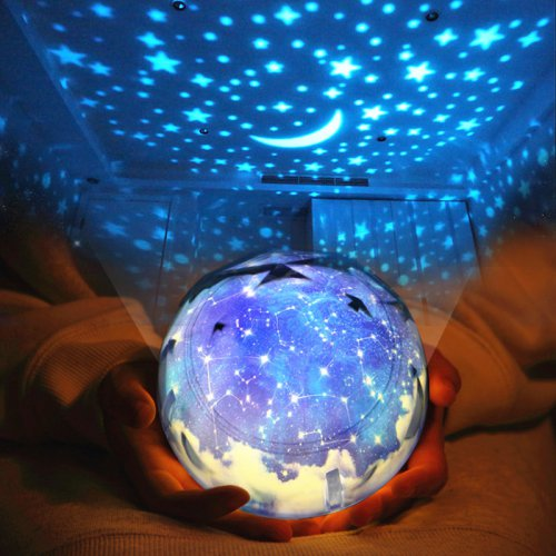 浪漫梦幻百变星空投影灯