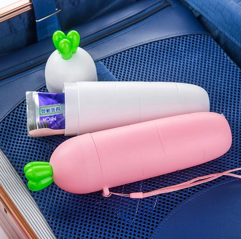 创意旅行洗漱杯便携套装胡萝卜