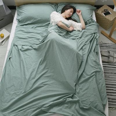 无印水洗纯棉宾馆隔脏旅行睡袋