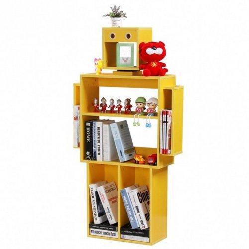 儿童书架书柜杂志玩具收纳装饰