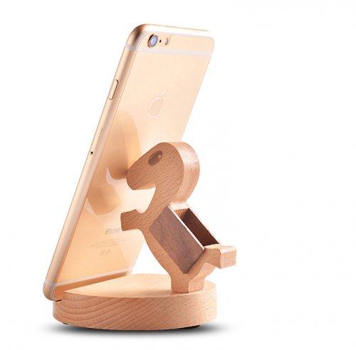 桌面创意小马手机支架