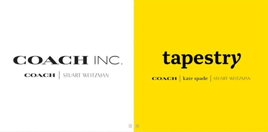 创意时尚 蔻驰COACH更名为Tapestry并打造全新品牌标识LOGO