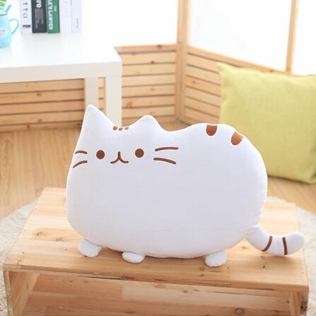 创意猫猫毛绒抱枕国庆/生日礼物