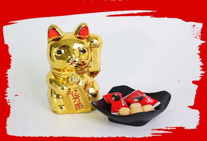 招财猫糖果盒储钱罐1