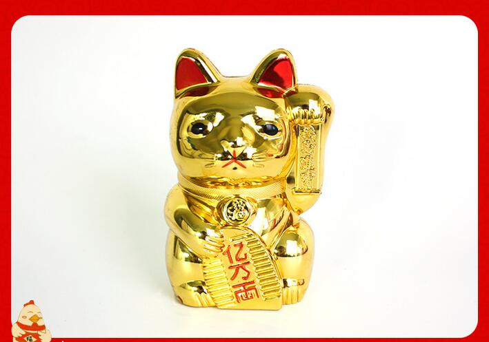 招财猫糖果盒储钱罐2