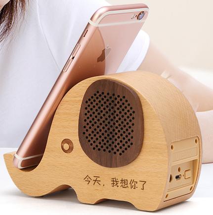 生日礼物送朋友送闺蜜的创意音响手机支架