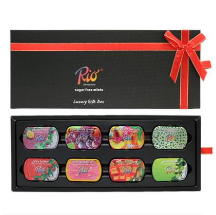 rio薄荷糖果新年礼盒装礼物