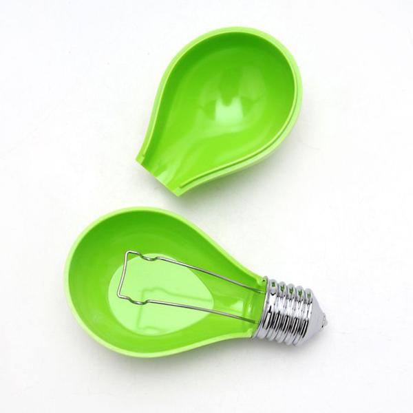 灯泡创意烟灰缸绿色