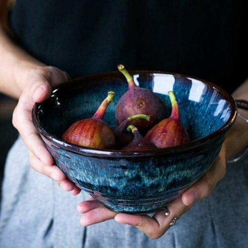 欧式沙拉碗米饭碗陶瓷拉面碗大汤碗
