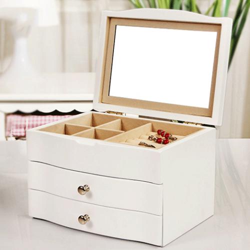 生日礼物送女友送老婆创意浪漫实用首饰盒