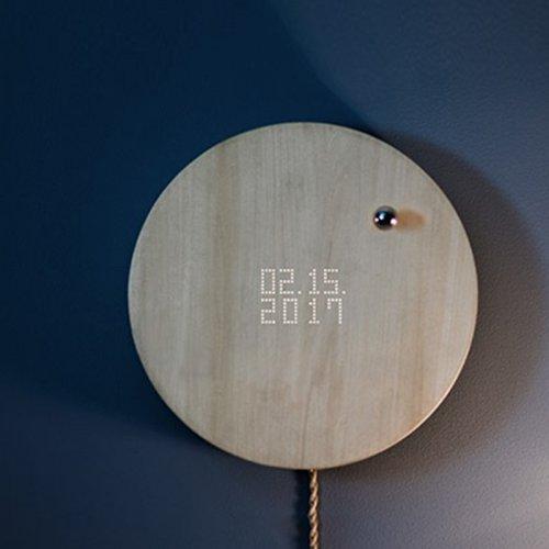 STORY客厅现代装饰创意磁悬浮挂钟