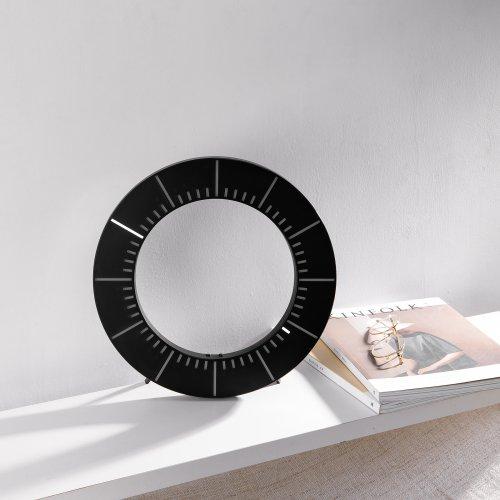 环形镂空LED钟 创意时钟发光走时无声