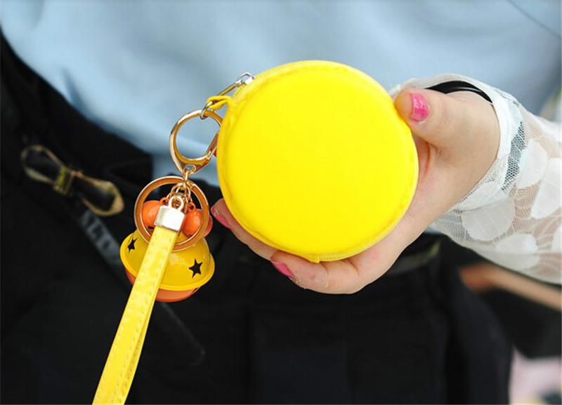 马卡龙撞色铃铛零钱包1