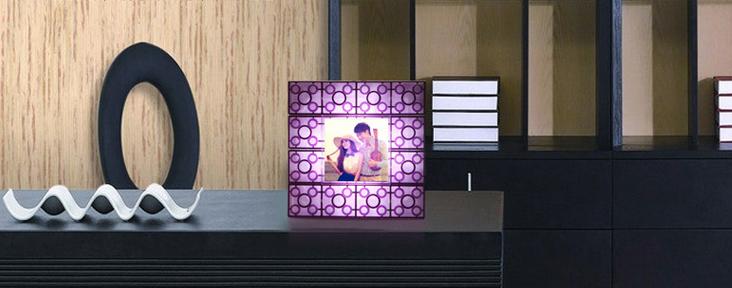 积木相框灯 3