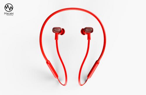 macaw TX-80无线蓝牙耳机 可换线