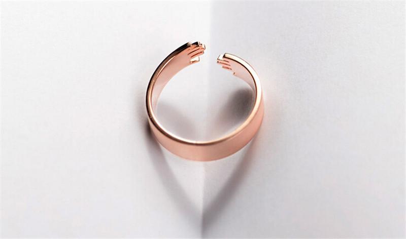 爱的拥抱情侣戒指2