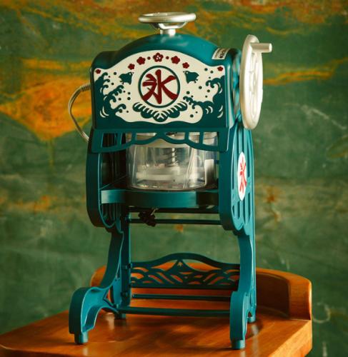 复古家用电动刨冰机