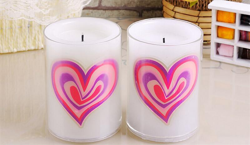 浪漫心形创意动态蜡烛4