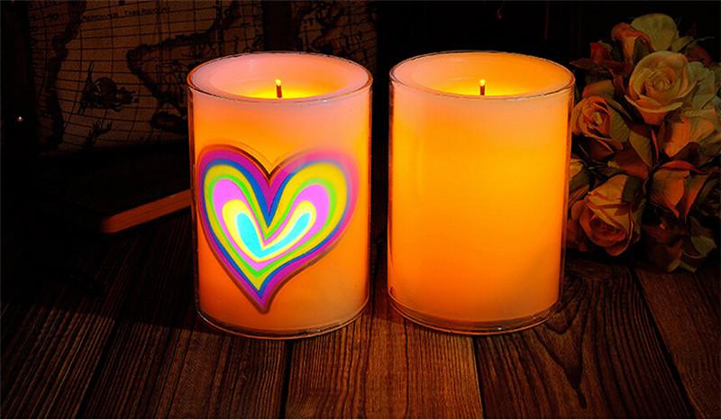 浪漫心形创意动态蜡烛1