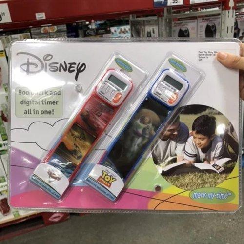 迪士尼 电子书签 书签计时器定时器