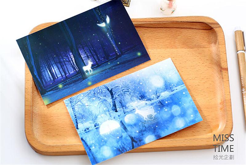 拾光梦幻圣诞明信片2