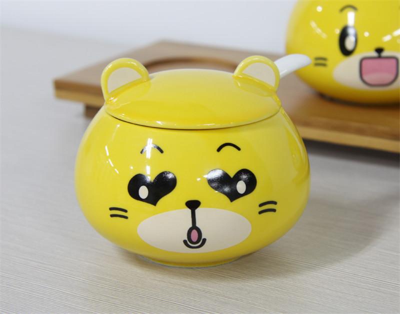 厨房用品陶瓷调料罐1