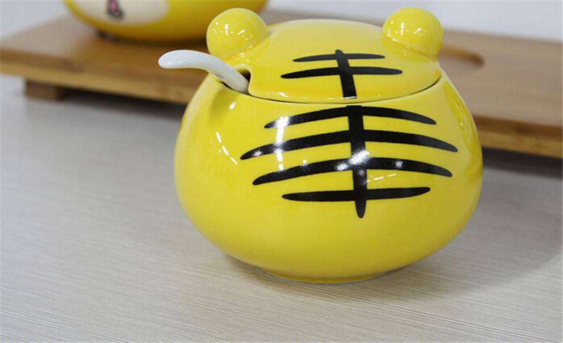 厨房用品陶瓷调料罐3
