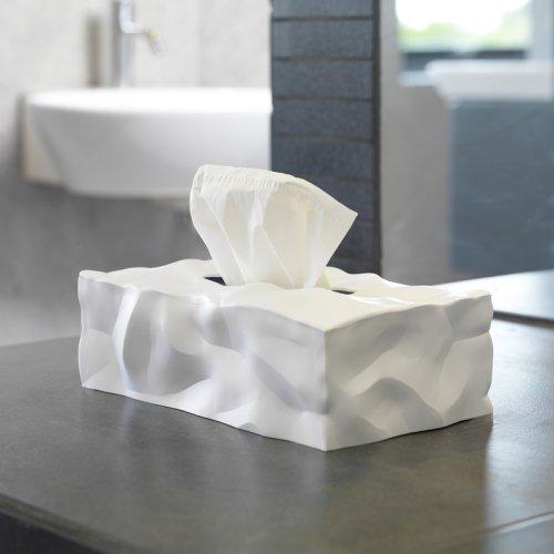 红点奖|创意褶皱无底餐巾纸抽纸巾盒