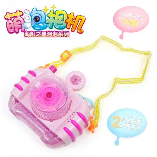 抖音同款|儿童电动魔法棒泡泡机照相机泡泡机
