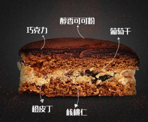 巧克力脏脏月饼创意网红夹心黑金月饼中秋送礼