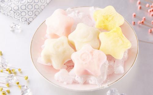 雪月饼星空中秋节冰皮月饼水果冰淇淋月饼