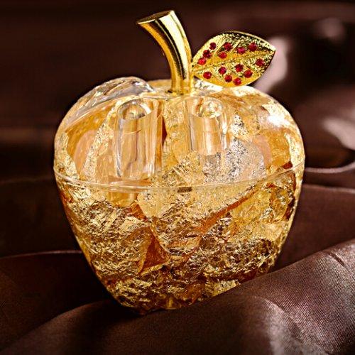 创意圣诞节礼物送女友女生金箔苹果