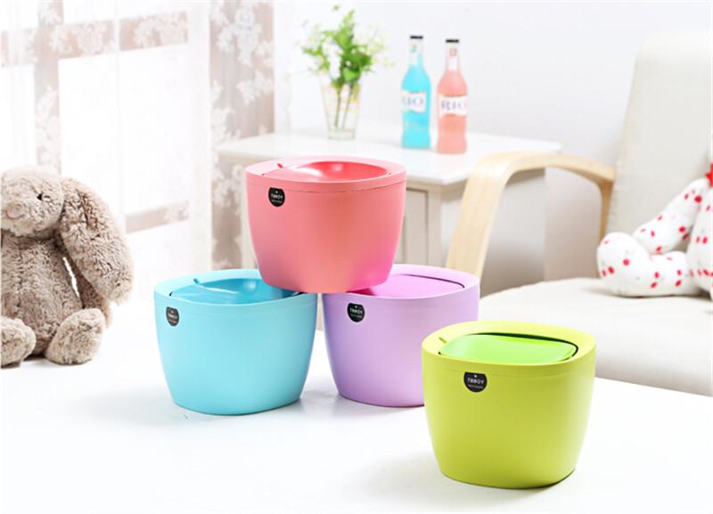日式创意桌面垃圾桶4