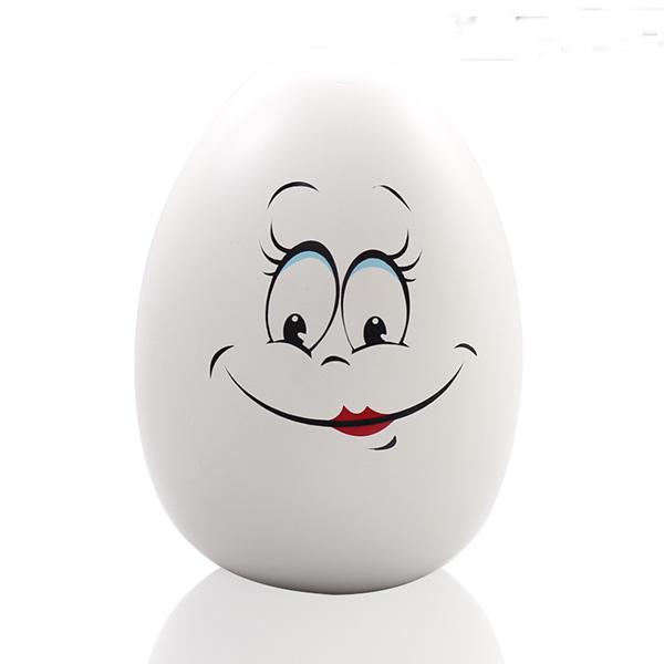 蛋形笑脸储钱罐3
